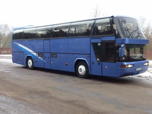 Autobusa noma Neoplan 50 vietas