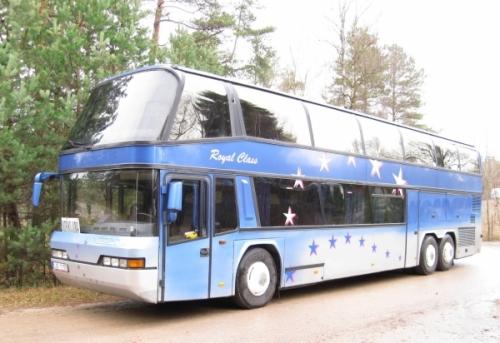 Autobusa noma Neoplan 77 vietas