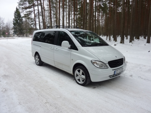 Mercedes Benz Vito Long 8+1 (White)