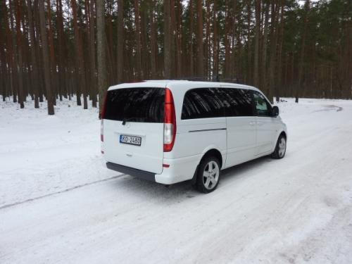 Mercedes Benz Vito Long 8+1 (White)